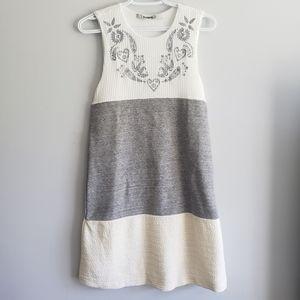 Desigual Colorado Embroidered Sleeveless Dress